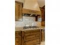 Custom vent hood cabinet and 5 burner Kitchenaid cooktop