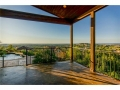 Rear covered patio with VIEWS for miles!!!