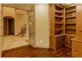 Recent built ins installed in the study for additional storage.